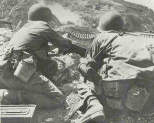 Phosphor-Ladung explodiert in japanischen Bunker