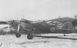 erbeuteter russischer SB-Bomber
