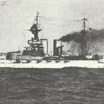 Schlachtschiff 'Quuen Elizabeth'