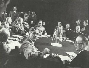 Teilnehmer Jalta-Konferenz