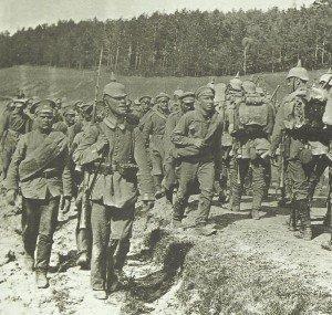Vormarsch deutscher Truppen nach Russland