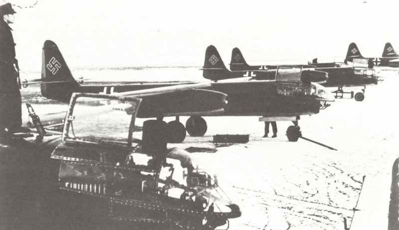 Ar 234 B-2 der 9. Staffel der III. Gruppe des Kampfgeschwaders 76