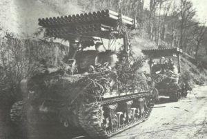 Raketenwerfer T34 'Calliope'