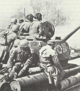 Vorstoß russischer Truppen in Polen im März 1945