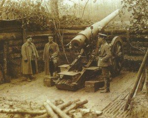 deutsche Lange 15-cm-Kanone