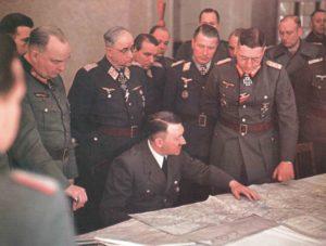 Hitler trifft General Busse