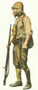Japanischer Infanterist 1942 Tropen
