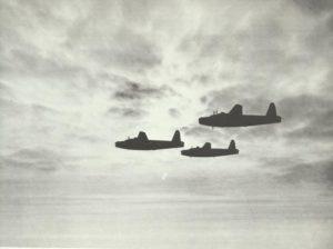 Kette von Wellington-Bombern