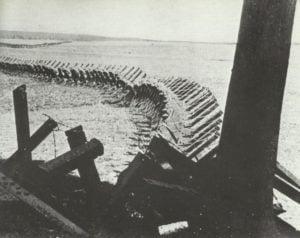 Panzerhindernisse deutsch-belgische Grenze