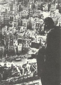 Stadtzentrum von Dresden 1949