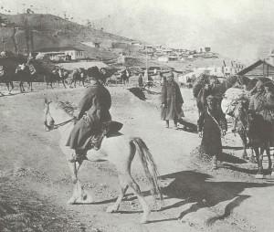 Türkische Kavallerie in Armenien