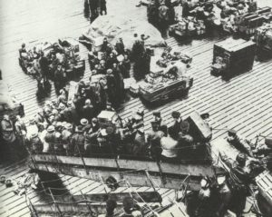 Einschiffung britisches Expeditionskorps