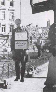 erhängter Major der Wehrmacht in Wien