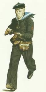 Dekksmann norwegische Marine