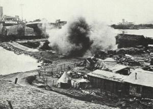 River Clyde auf dem Strand von Gallipoli