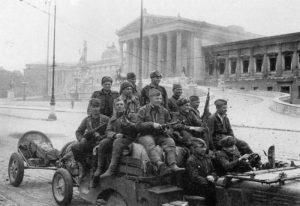 Russische Soldaten in Wien