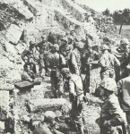 US Kommandostand auf Okinawa