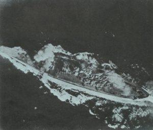 Yamato unter Luftangriff