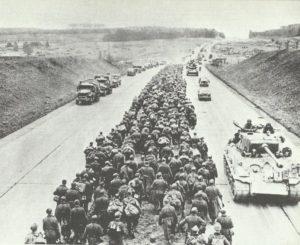 deutsche Gefangenenkolonnen