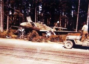 erbeuteter Me 262 Jabo