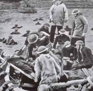 Evakuierung Verwundeter aus Dünkirchen