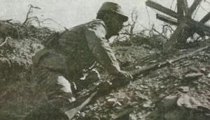 französischer Soldaten in den Dardanellen