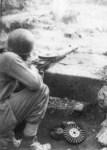 Schütze der US-Marines Okinawa