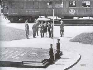 Marschal Fochs Eisenbahnwaggon