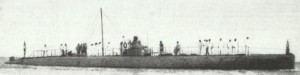 italienische U-Boot 'Medusa'