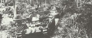 Matilda-Panzer der australischen Armee