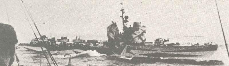 Torpedoboot der Spica-Klasse auf Fahrt.