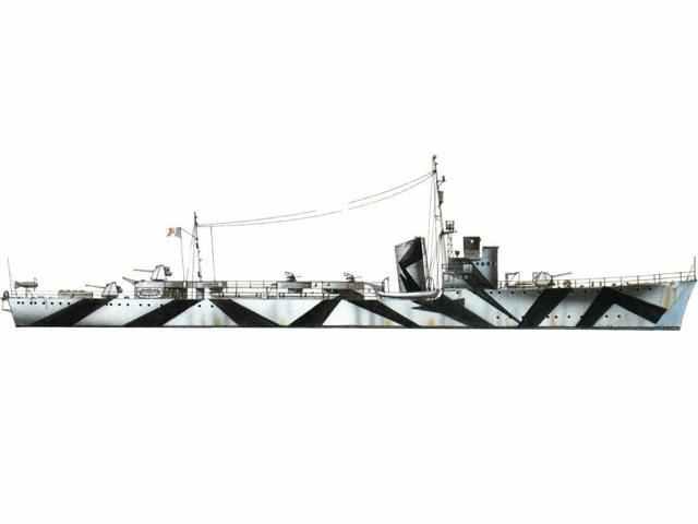 italienisches Torpedoboot der Spica-Klasse