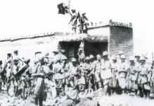 Italiener in britischem Fort in Somaliland
