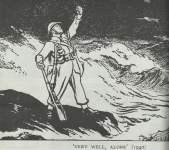 'Very wll, alone'