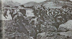 Britischer Angriff auf Gallipoli