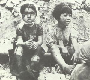 Zwei Kinder in Nagasaki gerettet