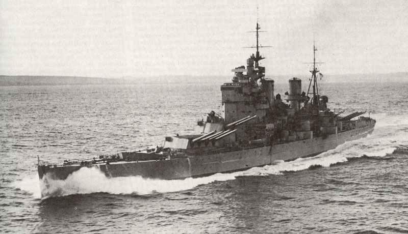 Hms King George V Englisches Schlachtschiff Im 2 Weltkrieg