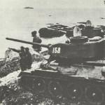 Russische Panzer am Chanka-See