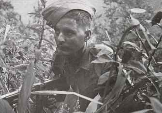'Tommy gun' in Burma