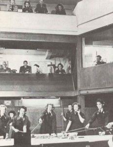 Operationsraum des RAF-Jägerkommandos