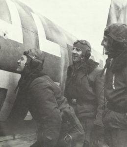 Einschusslöcher in He111