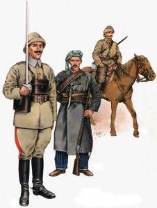 Türkische Kavallerie
