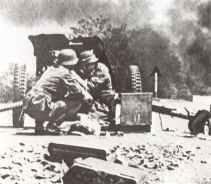 3,7-cm PAK 36 im Gefecht in Russland