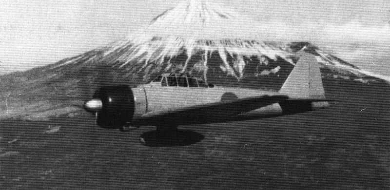 Zero vor Fuschijama