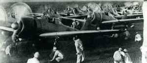 Zeros auf dem Flugzeugträger Akagi