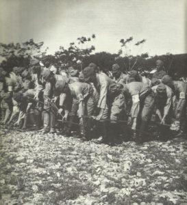 Japaner legen Schwerter nieder