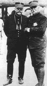 Generale Joseph und Joffre