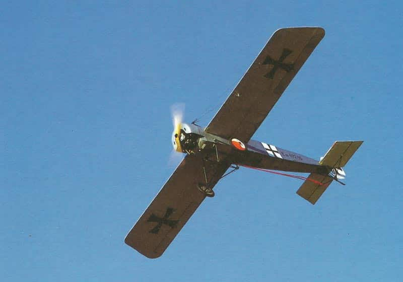 nachgebaute Fokker EIII