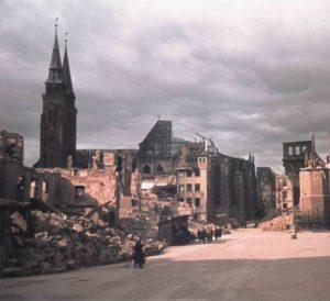 Nürnberg in Ruinen