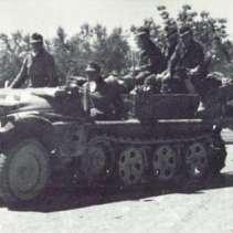 Das häufigste Zugfahrzeug für die Pak 36 war die Ein-Tonner-Zugmaschine von Krupp.